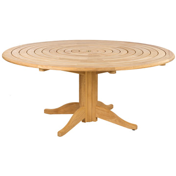 Alexander Rose Roble Bengal Round Pedestal Table 1.75m