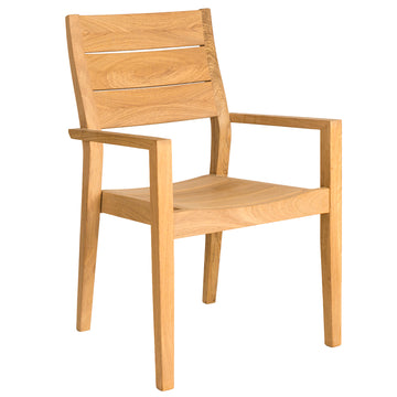 Alexander Rose Roble High Back Stackable Armchair