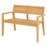 Alexander Rose Roble Tivoli Bench with Coffee Table Set
