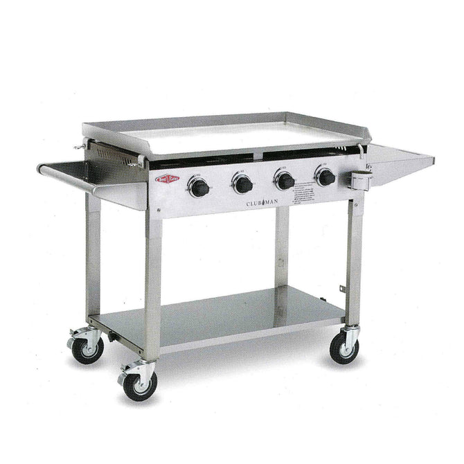 BeefEater Clubman Portable 4 Burner Stainless Steel Gas Barbecue