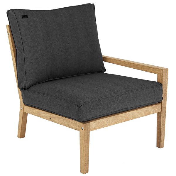Alexander Rose Roble Lounge Right End Module with Cushions (FSC 100%)