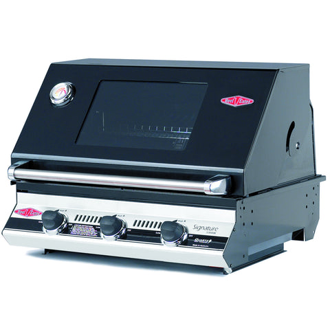 BeefEater Signature S3000E Series 3 Burner Build-in Gas Barbecue
