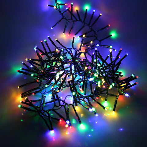 280, 360 Fit & Forget Battery Operated Multi Coloured Multi Function Cluster Lights