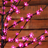1.5m (5ft) 150 LED Cherry Blossom Tree by Noma - Pink