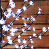 1.2m (4ft) 100 LED Cherry Blossom Tree by Noma - Bright White