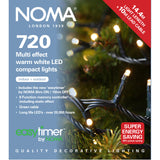 Noma 480, 720, 960, 2000 Compact Multifunction LED Lights with Green Cable - Warm White