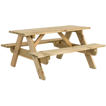 Alexander Rose Pine Childrens Picnic Table