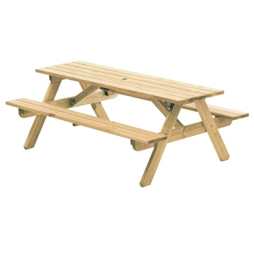 Alexander Rose Pine Woburn Picnic Table 6ft (1.8m)