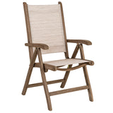 Alexander Rose Sherwood Sling Recliner Chair - Barley