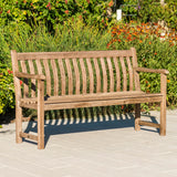 Alexander Rose Sherwood Broadfield Wooden Bench 5ft (1.5m)