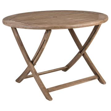 Alexander Rose Sherwood Round Folding Table 1.1m