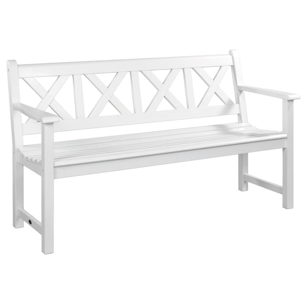 Alexander Rose New England Cornis Drachmann Wooden Bench 5ft (1.5m)