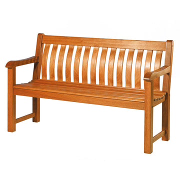 Alexander Rose Cornis FSC St George Wooden Bench 5ft (1.5m)