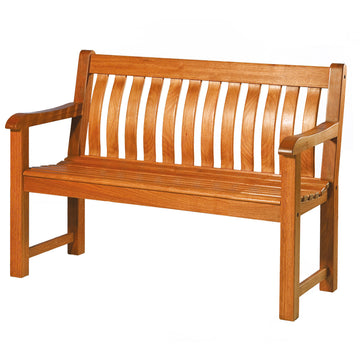 Alexander Rose Cornis FSC St George Wooden Bench 4ft (1.2m)
