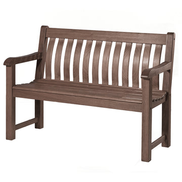 Alexander Rose Sherwood St George Wooden Bench 4ft (1.2m)