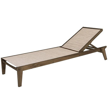Alexander Rose Sherwood Outdoor Sling Adjustable Sunbed