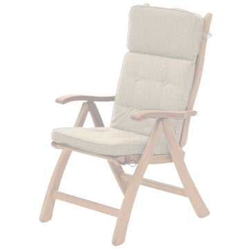 Alexander Rose Olefin Recliner Chair Cushion Oatmeal