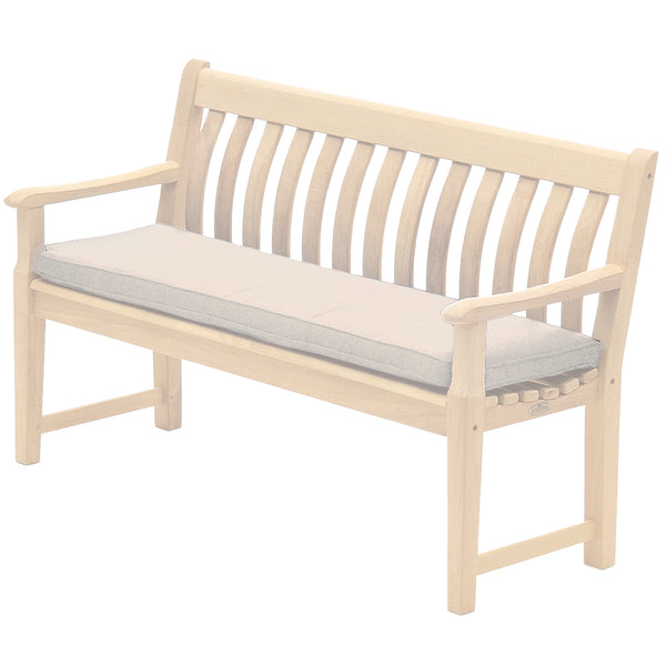 Alexander Rose Olefin 4ft (1.2m) Bench Cushion Oatmeal