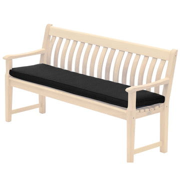 Alexander Rose Olefin 5ft (1.5m) Bench Cushion Charcoal