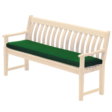Alexander Rose Olefin 5ft (1.5m) Bench Cushion Green