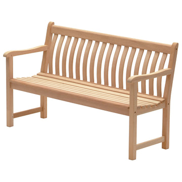 Alexander Rose Mahogany Broadfield Wooden Bench 5ft (1.5m)