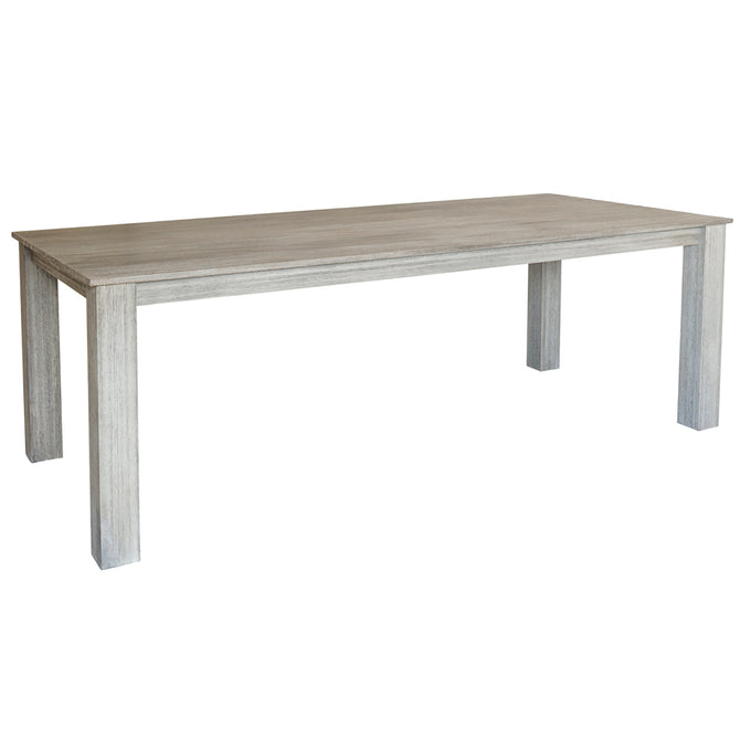 Alexander Rose Old England Brushed Acacia Rectangular Table 2.2m x 1m