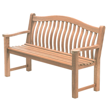 Alexander Rose Mahogany Turnberry Wooden Bench 5ft (1.5m)