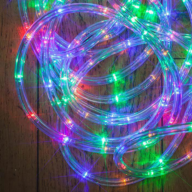 Noma Multi Colored Multi Function LED 10mm Rope Light with Timer