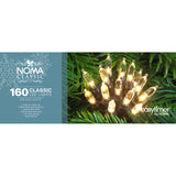 Noma 40, 80, 120, 160, 240 LED Noma Antique White Classic LED Lights with Green Cable