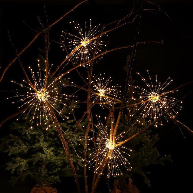Noma 5 Large Firework LED Christmas Light Chain
