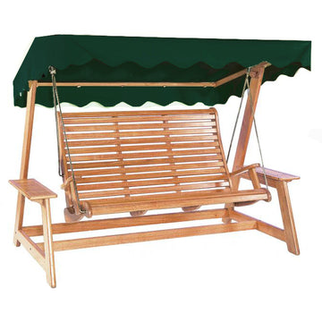 Alexander Rose Sussex Mahogany Swing Seat - Green