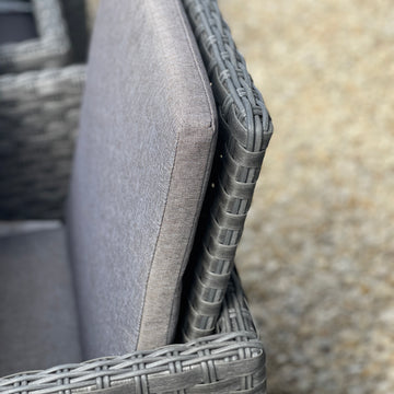 Draco Grills Z640 6 Burner Barbecue with Sear Station and Double Fridge unit