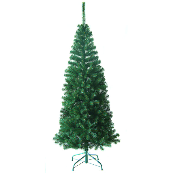 Noma Keswick Slim Pine Christmas Tree with 1050 PVC tips and Metal Stand - 7ft