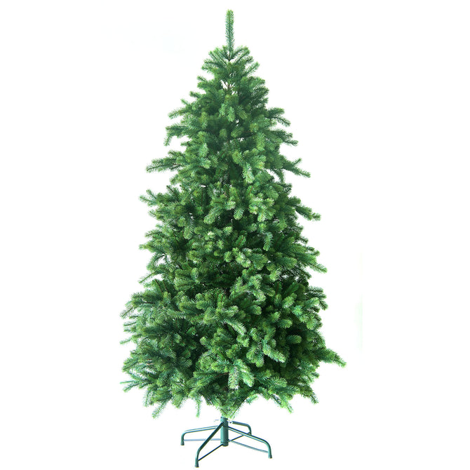 Noma Hawkshead Fir Christmas Tree with 100% PVC tips and metal stand - 6ft, 7ft