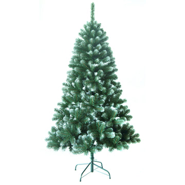 Noma Wasdale Frosted Fir Christmas Tree with 100% Frosted PVC tips - 5ft, 6ft