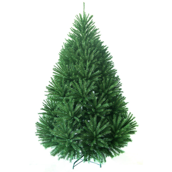 Noma Blenheim Spruce Christmas Tree with 100% PVC tips and Metal Stand-6ft, 7ft