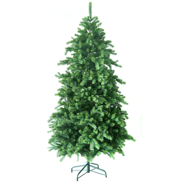 Noma Hatfield Fir Christmas Tree with PE & PVC Tips and Metal Stand