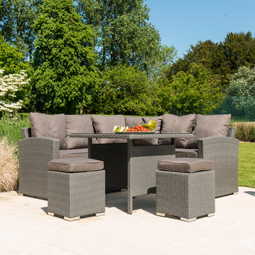 Bracken Outdoors Dakota Mini Rattan Casual Dining Garden Furniture Set