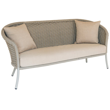 Alexander Rose Cordial 3 Seater Lounge Sofa Beige