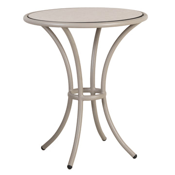 Alexander Rose Cordial Beige Bistro Table with Sand Laminate Top