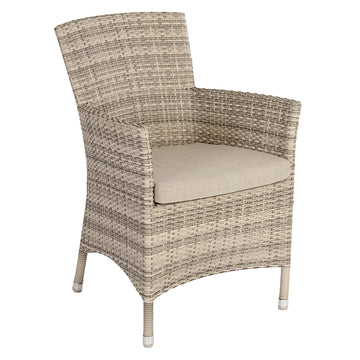 Alexander Rose Ocean Pearl Wave Armchair with Cushion