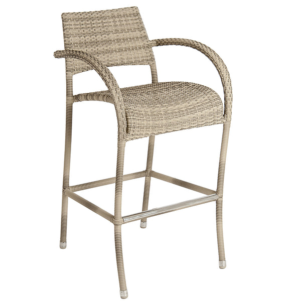 Alexander Rose Ocean Pearl Fiji High Bar Stool