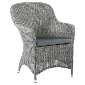 Alexander Rose Monte Carlo Closed Weave Armchair with Cushion