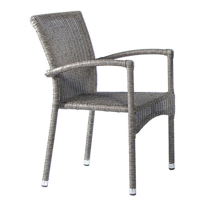 Alexander Rose Monte Carlo Stacking Armchair Grey