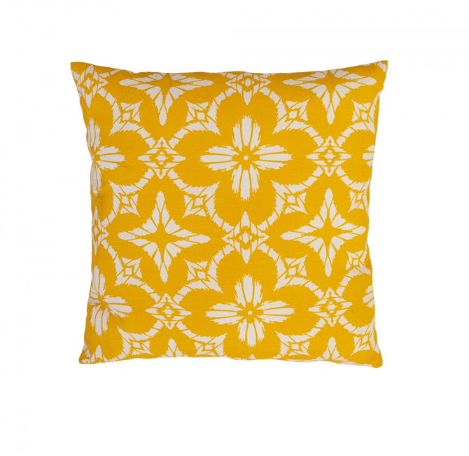 Alexander Rose Dalia Yellow Scatter Cushion