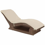 Alexander Rose San Marino Raised Sunbed with Cushion