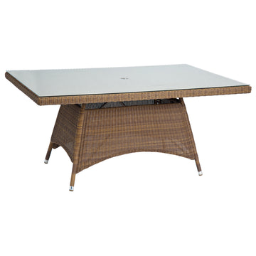 Alexander Rose San Marino 1.6m x 1m Rectangular Table