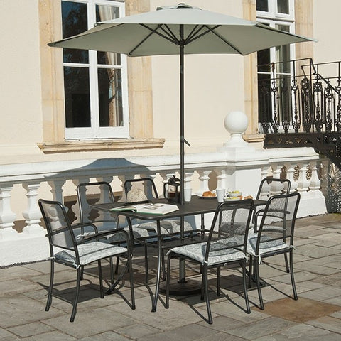 Alexander Rose Portofino 6 Seater Rectangular Set