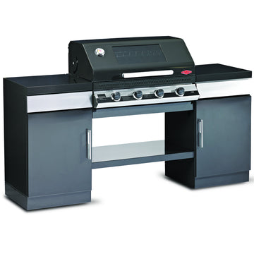 BeefEater Outdoor Kitchen with 4 Burner Discovery 1100E Series Gas Barbecue
