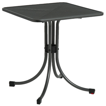 Alexander Rose Portofino Metal Square Bistro Table 0.7m